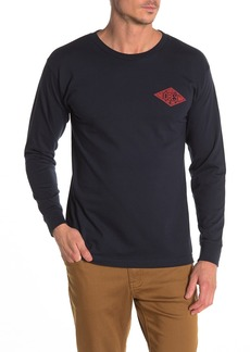 Obey Trademark Brand Logo Long Sleeve T-Shirt