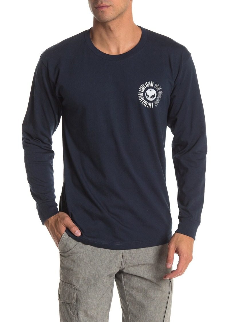 Obey What Goes Around Graphic Long Sleeve T-Shirt
