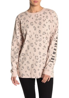 Obey Worldwide Journal Leopard Print T-Shirt