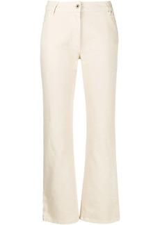 Off-White diagonal print jeans
