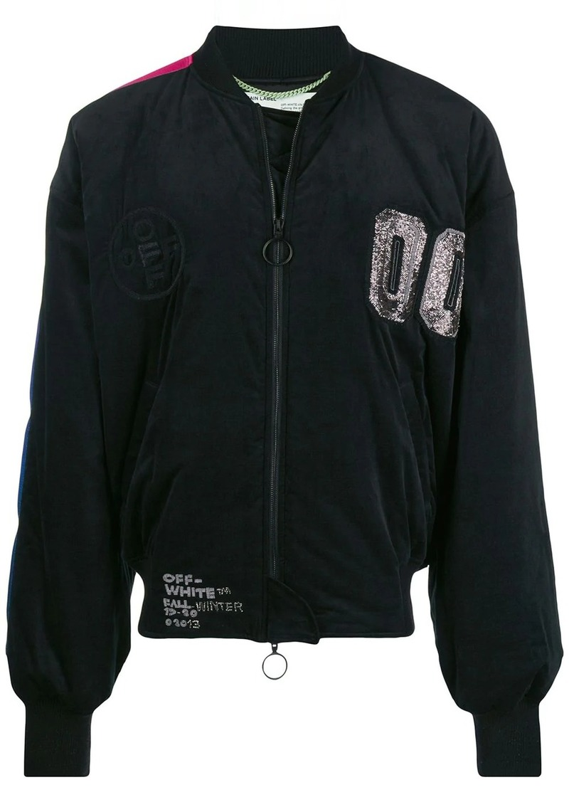 Off-White 00 Flight jacket