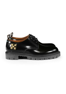 Off-White Arrow Chunky Leather Derby Shoes