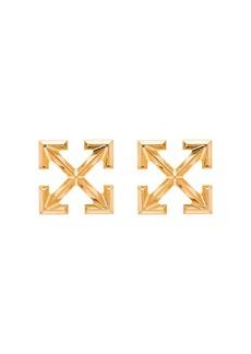 Off-White arrow earrings
