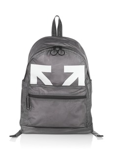 Off-White Arrow Logo PVC Backpack