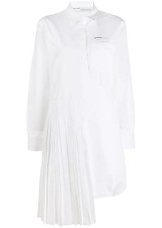 Off-White Arrow print shirt dress