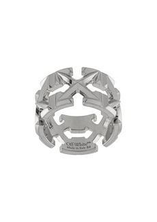 Off-White Arrows round-shaped ring