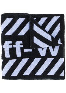 Off-White Arrows wool scarf