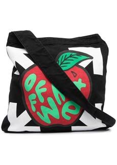 Off-White Arrows apple print shoulder bag