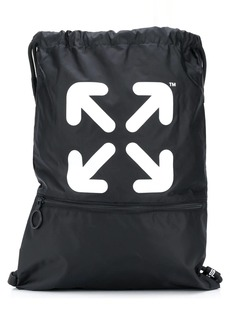 Off-White Arrows gym backpack