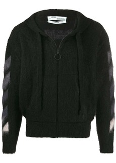 Off-White Arrows hooded cardigan