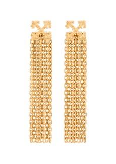 Off-White Arrows pendant earrings