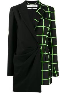 Off-White bi-design blazer dress
