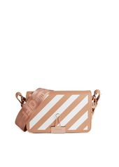 Off-White Binder Clip Leather Crossbody Bag