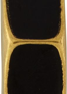 Off-White Black & Gold Single Hexnut Earring