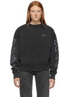 Off-White Black & White Abstract Arrows Sweatshirt