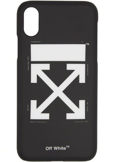 Off-White Black & White Arrow Carry OV iPhone X Case
