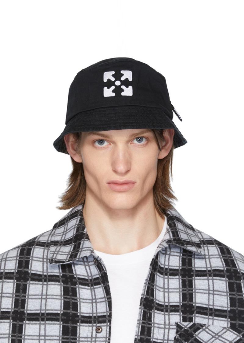 Off-White Black & White Arrows Bucket Hat