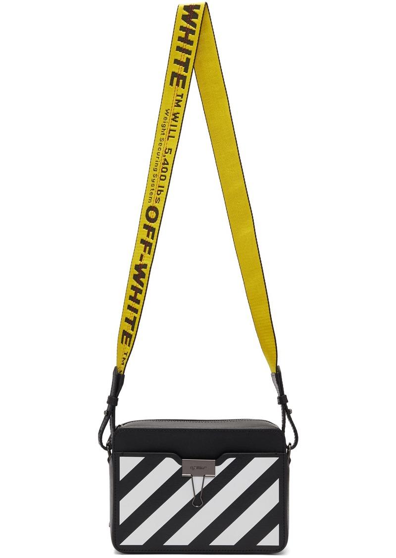 Off-White Black & White Diag Camera Bag