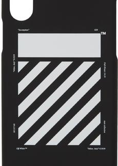 Off-White Black & White Diagonal iPhone X Case