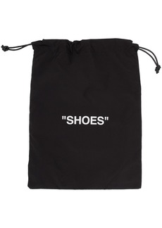 """Off-White Black & White """"Shoes"""" Pouch"""
