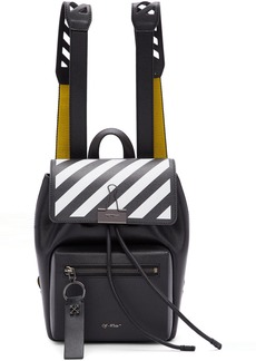 Off-White Black & Yellow Diag Backpack