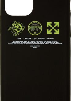 Off-White Black & Yellow Multi Symbols iPhone 11 Pro Case