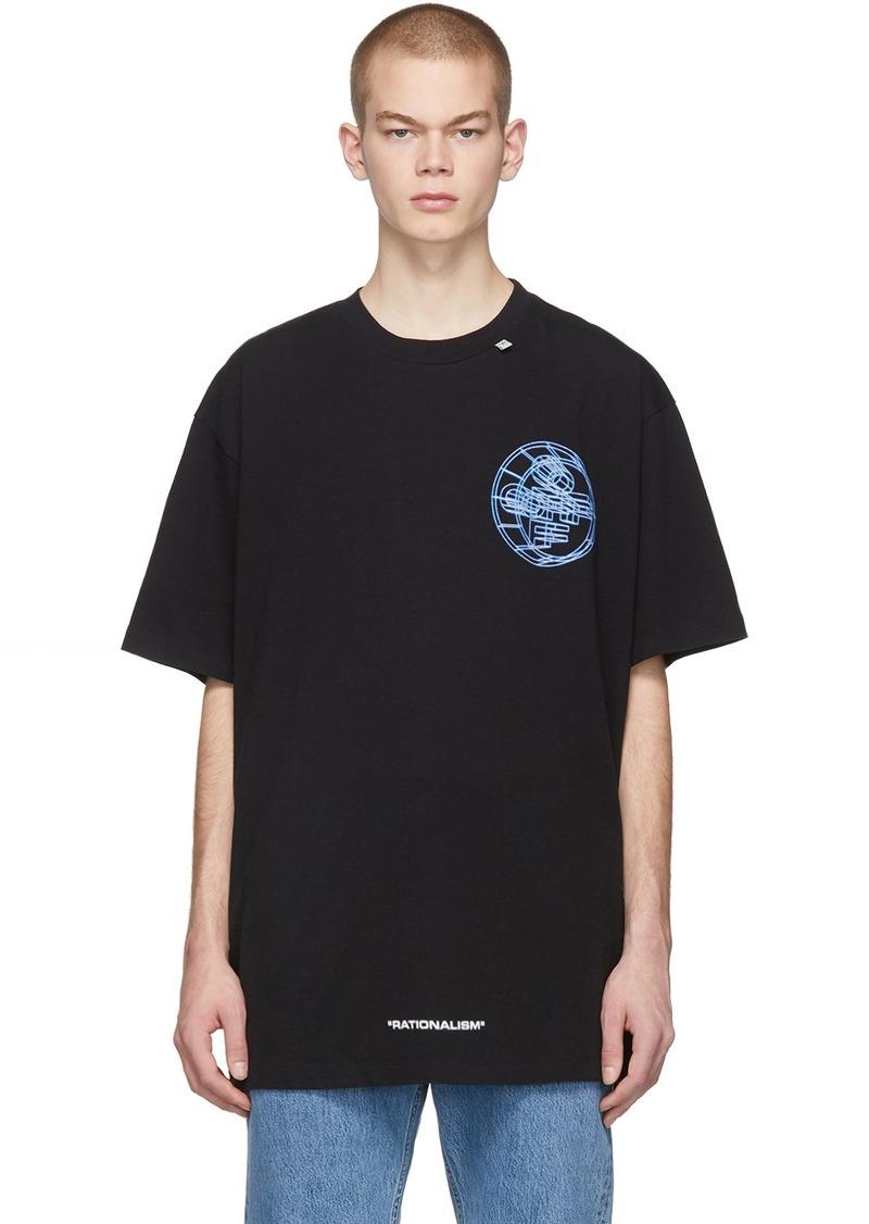 Off-White Black 3D Crossed T-Shirt