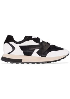 Off-White Black and white arrow low-top runner sneakers
