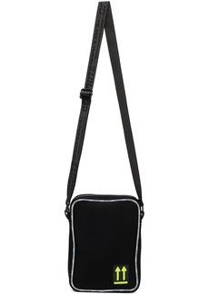 Off-White Black Bonded Jersey Man Bag