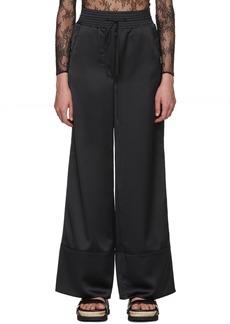 Off-White Black Cargo Pajama Pants