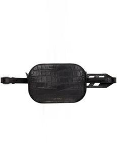 Off-White Black Croc Belt Bag