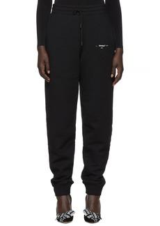 Off-White Black Diagonal Marker Arrows Lounge Pants