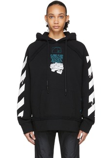 Off-White Black Dripping Arrows 'Incompiuto' Hoodie