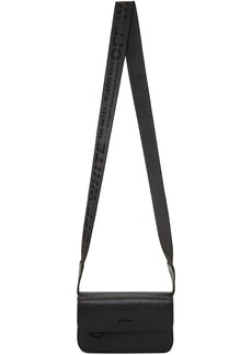 Off-White Black Flap Crossbody Bag