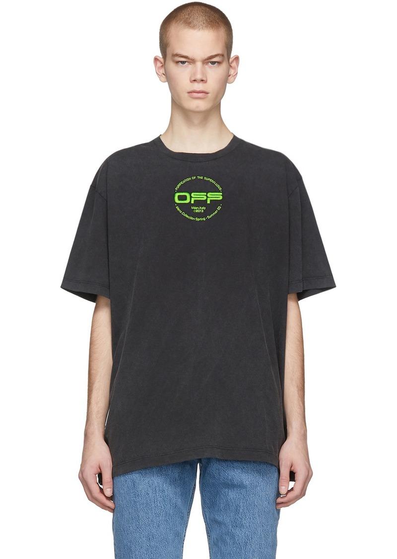 Off-White Black Hand Logo T-Shirt