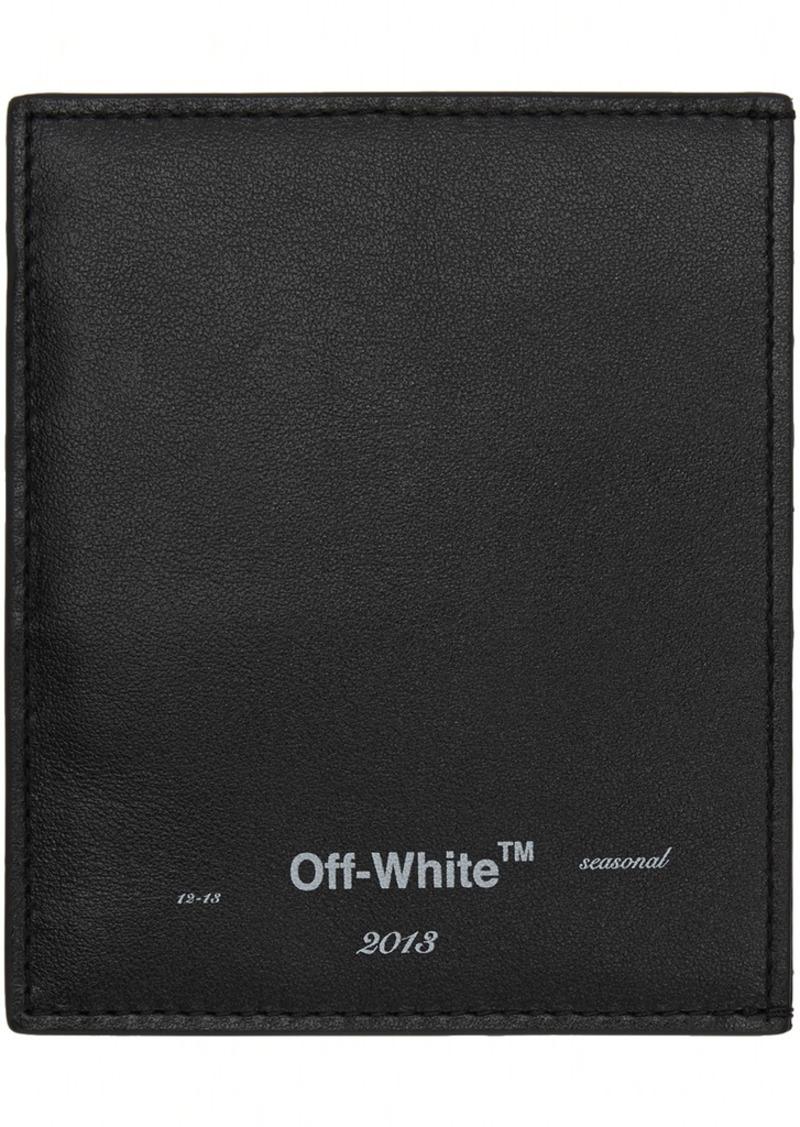 Off-White Black Logo Card Holder