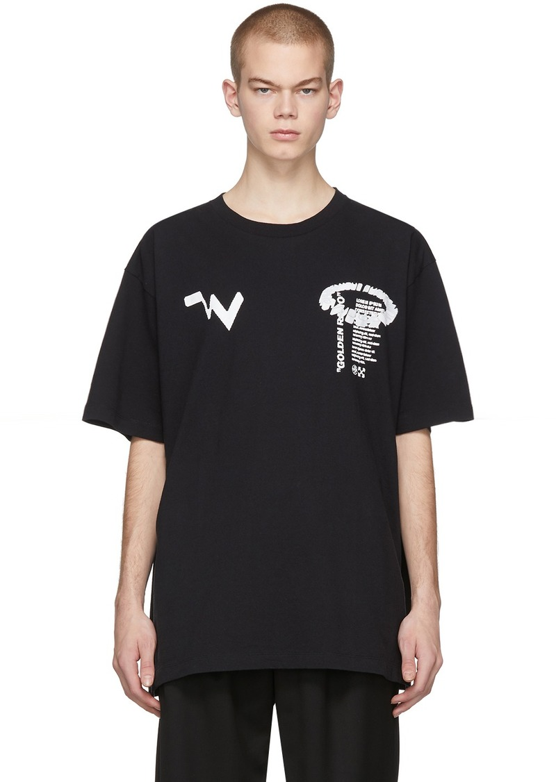 Off-White Black Low Res T-Shirt