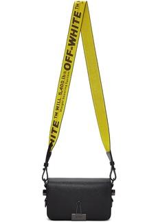 Off-White Black Mini Plain Flap Bag