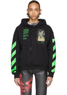 Off-White Black Pascal Painting Hoodie