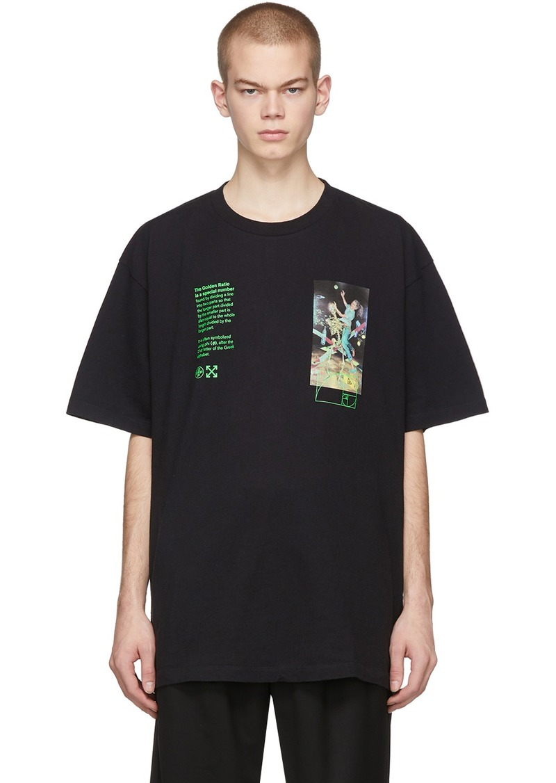 Off-White Black Pascal Painting Over T-Shirt