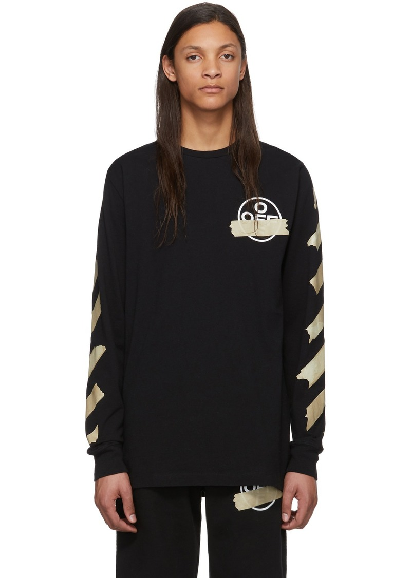 Off-White Black Tape Arrows Long Sleeve T-Shirt