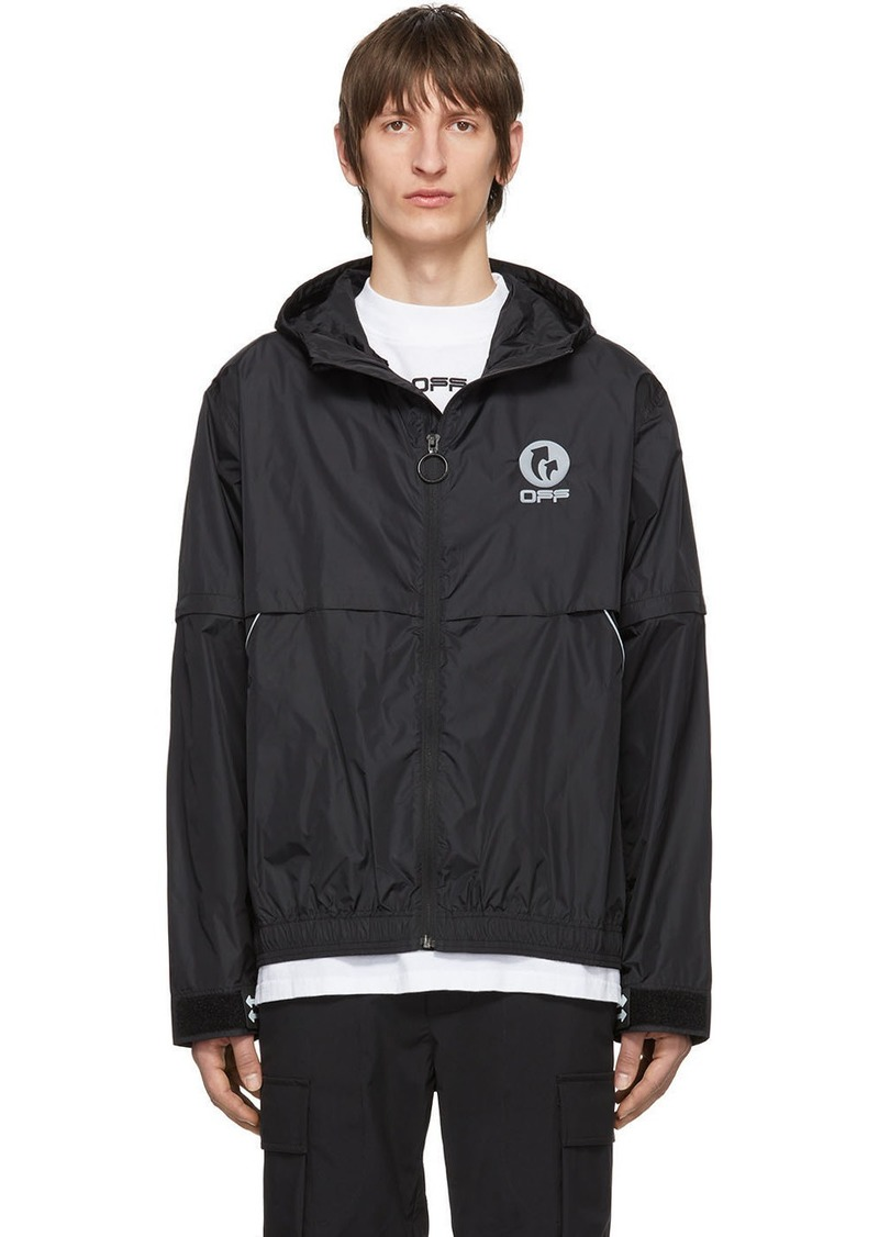 Off-White Black WR Top Shell Jacket