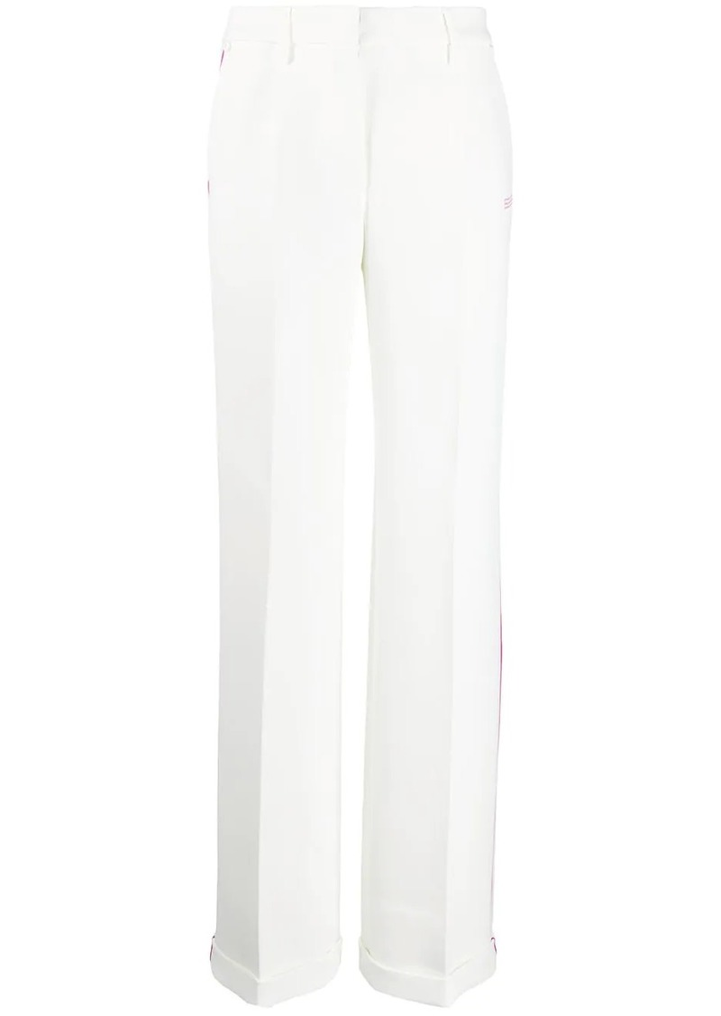 Off-White BONDED FORMAL PANT WHITE NO COLOR