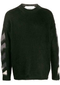 Off-White Diagonal Arrows knitted jumper