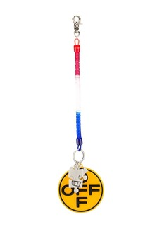 Off-White bungee puzzle keyring