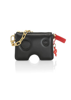Off-White Burrow Leather Pouch