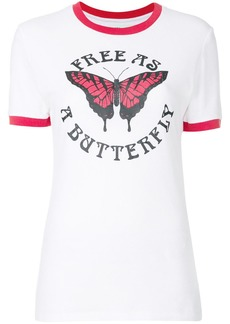 Off-White butterfly T-shirt