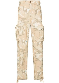 Off-White x Browns 50 camouflage cargo trousers