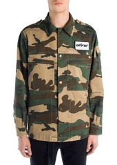 Off-White Camouflage Military Shirt