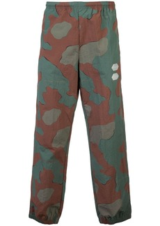 Off-White camouflage print track pants